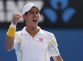Теннис. ATP Майами. 1/4 финала. Кей Нисикори – Джон Изнер. Прогноз на матч 02.04.2015