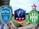 Труа - Сент-Этьен: Кубок Франции по футболу. 1/8 финала
