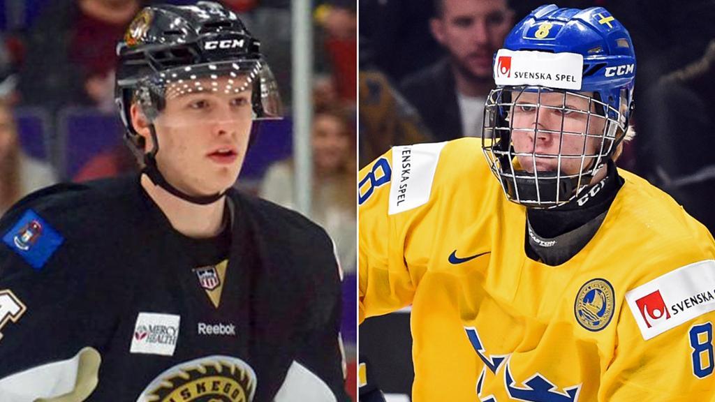 Скаутское бюро НХЛ составило финальные рейтинги: Далин и Свечников заняли первые места