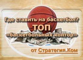 Ставки на баскетбол в Интернете (анализ букмекеров). Часть 1