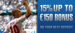Новая промо-акция от 10 Бет – бонус до 150 Евро на футбольные поединки и не только