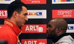 Ставки на бой Кличко – Мормек: 3 марта 2012 года