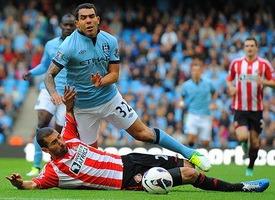 Манчестер Сити – Сандерленд, прогнозируемое преимущество, игра состоится 16.04.14