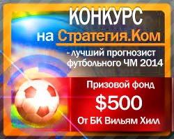 Конкурс «ЧМ-2014» – ИТОГИ