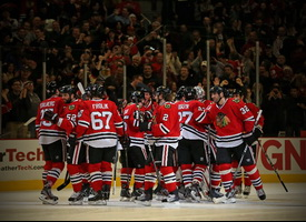 NHL. Чикаго – Даллас. Битва за лидерство в Западной конференции (12.02.2016)