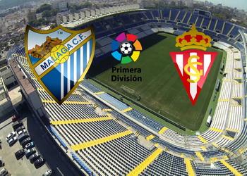 Малага – Спортинг Хихон: матч-открытие 29-го тура Ла Лиги