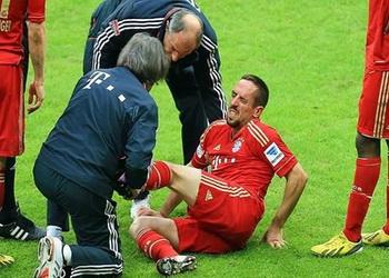 Рибери травмирован, и, возможно, пропустит полуфинал Кубка Германии