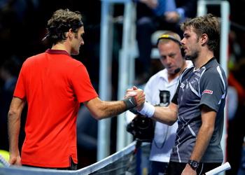 Вавринка: «Я не могу быть счастлив минимальной победе Федерера»