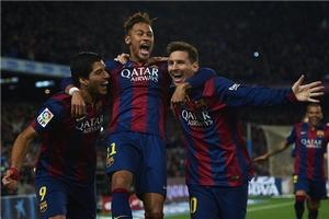 Барселона и Монако возглавили рейтинг самых результативных клубов Европы