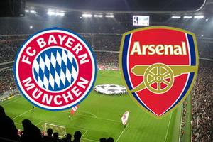 Лига Чемпионов. 1/8 финала. Бавария – Арсенал. Прогноз на матч 15.02.17