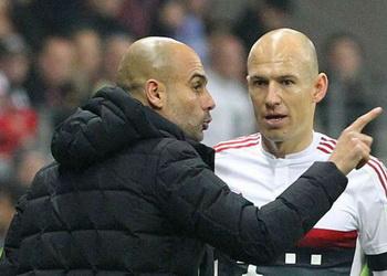 Роббен уверен, что Гвардиола добьется успеха в «Манчестер Сити»