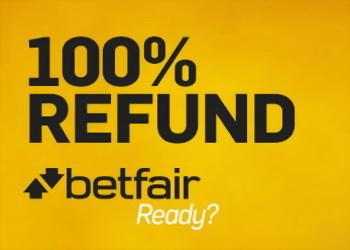 Betfair предлагает 100% возвраты по обменным позициям