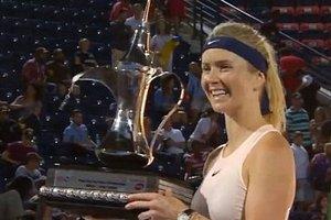 Элина Свитолина выиграла 11 титулов из 13, победив в седьмом финале подряд