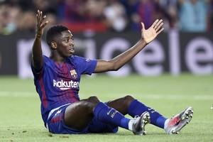 Усман Дембеле может расстаться с Барселоной уже следующим летом