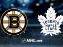 NHL. Плей-офф. 1/4 финала. Бостон Брюинз – Торонто Мейпл Лифс. Прогноз от специалистов на матч 26.04.18