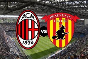 Серия А. Милан – Беневенто. Превью и ставка на матч 21.04.18