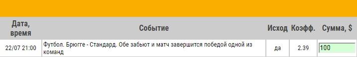 Ставка на Суперкубок Бельгии. Брюгге – Стандард. Превью и ставка на матч 22.07.18 - прошла.
