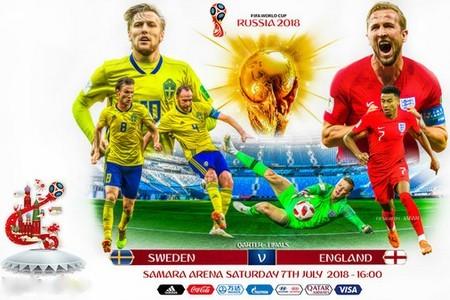 Чемпионат мира. Четвертьфинал. Швеция – Англия. Прогноз от экспертов на первый матч 7 июля 2018 года