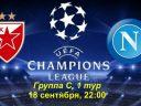 Лига Чемпионов. Црвена Звезда - Наполи. Анонс и прогноз на матч 18 сентября 2018 года
