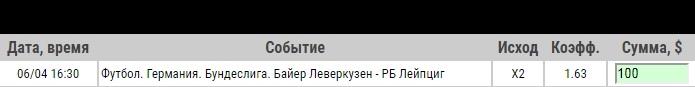 Ставка на Бундеслига. Байер Леверкузен – РБ Лейпциг. Прогноз от специалистов на матч 6.04.19 - ожидается.