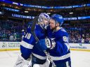 Кучеров и Василевский получили главные награды НХЛ за прошлый сезон