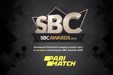Париматч может получить 4 награды на SBC Awards 2019