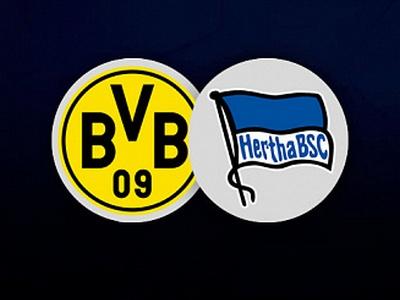 Бундеслига 1. Боруссия (Дортмунд) – Герта. Прогноз на матч 6 июня 2020 года