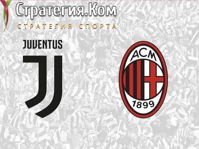 Ювентус – Милан: анонс, прогноз и ставка на матч 1/2 финала Кубка Италии (12.06.2020)