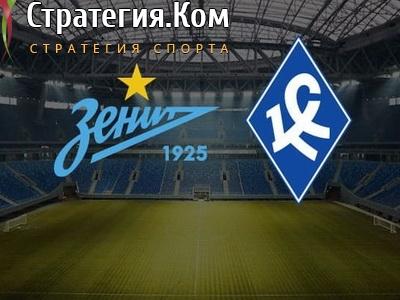 Зенит – Крылья Советов. Прогноз и ставка на матч 26 июня 2020 года