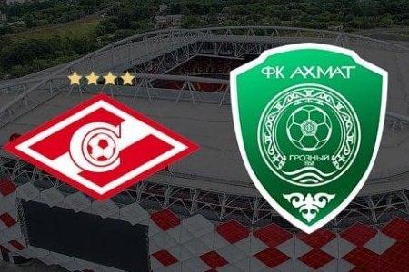 РПЛ. Спартак – Ахмат. Прогноз на матч 14 августа 2020 года