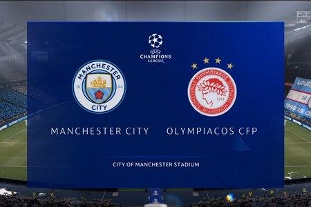 Лига Чемпионов. Манчестер Сити – Олимпиакос. Прогноз от экспертов на матч 3 ноября 2020 года